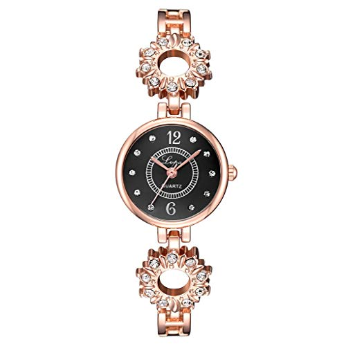 Yallylunn European and American Simple Casual Small and Delicate Women's Bracelet Watch Einstellbar Bleib Stabil Eleganz Den TäGlichen Verschleiß Bequem