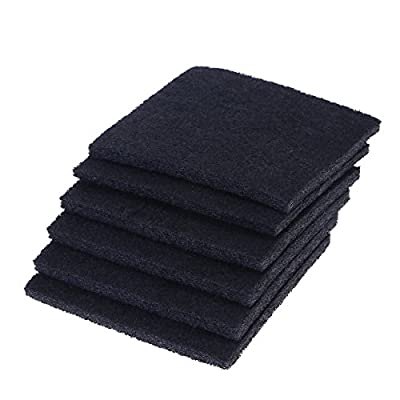 UEETEK 6pcs Replacement Carbon Filter for Hooded Cat Litter Tray from UEETEK