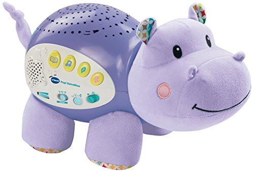 VTech Baby Proyector musical Popi estrellitas, color púrpura, versión española (80-180922)