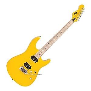 Vintage V6M24DY guitare électrique Daytona Yellow