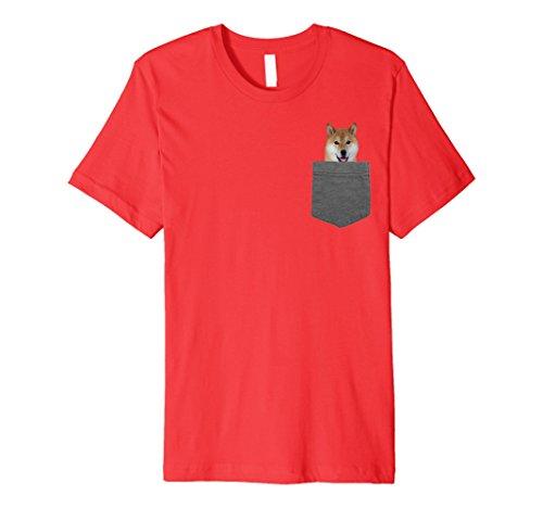Dog in Your Pocket Tshirt Shiba Inu Shirt Doge Tee