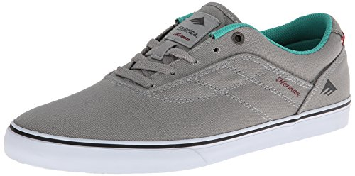 Emerica - The Herman G6 Vulc, Scarpe da skate da uomo Grigio (Grey/Green)