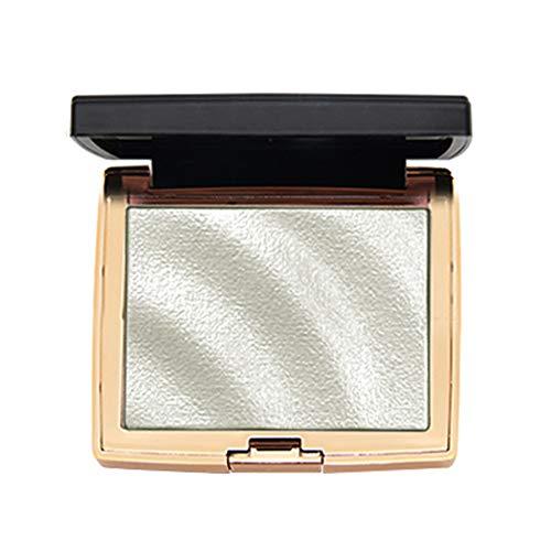 Allbestaye Highlighter Palette Bronzer Puder Wasserfest Make-Up Highlighting High Gloss Contouring Illuminator Glow -