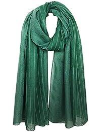 Emorias 1 Pcs Bufanda de Mujer Caliente Suave Largo Chal Otoño e Invierno Algodón Pañuelo para Señora