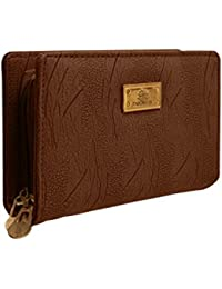 TAP FASHION Fancy Stylish Elegant Synthetic Handmade Wallet/Clutch/ Purse For Girls And Women.
