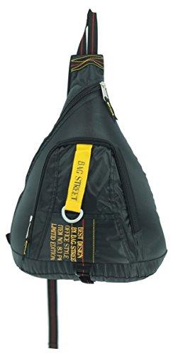 ms1024ac-nb24 Bag Street BAG STREET, Couleur Noir, Sac à dos avec fermeture éclair et sangle de transport, Homme et Femme Enfants Sac Loisirs Sac de Sport FA. bowatex