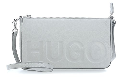 HUGO Damen Mayfair Mini Bag Schultertasche, 4.5x13x22.5 cm Grau (Light/Pastel Grey 051)