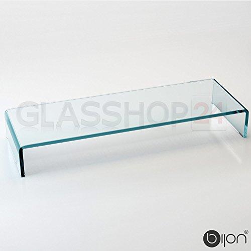 bijon® TV-Glasaufsatz Monitorerhöhung (B/T/H) 450x250x110mm – klar - 2