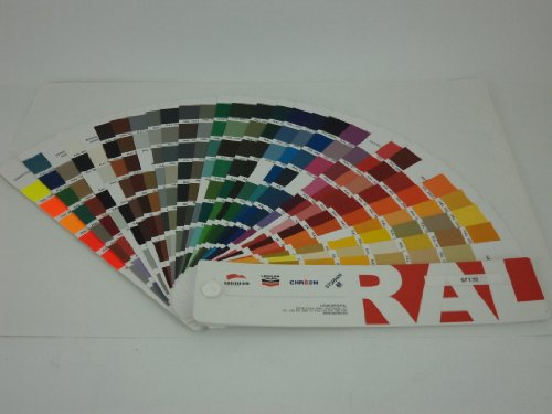 Price comparison product image RAL Colour Chart Chips/Swatches/Fan