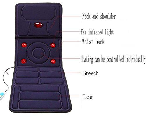 Zoom IMG-3 qglt materasso massaggiante completo per
