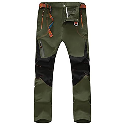 WALK-LEADER Mens Outdoor Windproof Hiking Mountain Climbing Pants/Trousers A/G XL