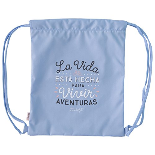 bolsa con frase de mr wonderful