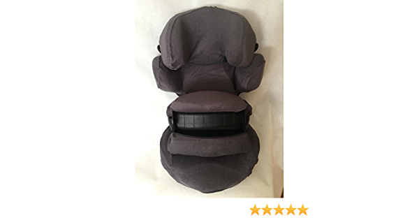 Sommerbezug Schonbezug Frottee Für Kiddy Guardianfix 3 Frottee 100 Baumwolle Dunkelgrau Baby