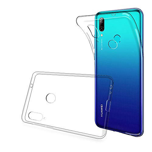 ANEWSIR Cover Compatibile con Huawei P Smart 2019, P Smart 2019 Custodia, Case in Morbido Silicone di Gel AntiGraffio in TPU Ultra - Trasparente