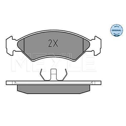 Meyle 025 208 5717 Kit de plaquettes de frein, frein à disque
