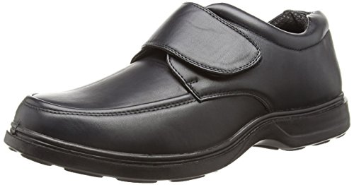 new-mens-gents-touch-fastening-comfort-fit-shoes-wider-fitting-black-uk-size-9