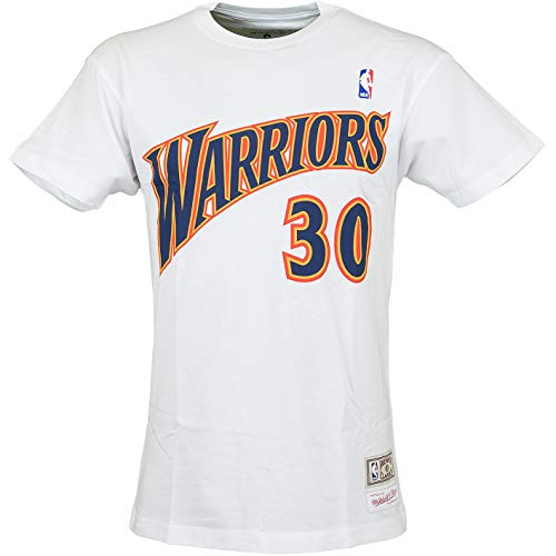 en State Warriors Stephen Curry T-Shirt (XXL, weiß) ()