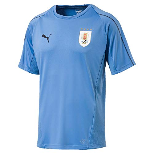 Puma 2018-2019 Uruguay Training Jersey (Blue) (Uruguay Jersey)