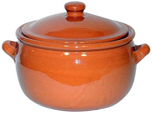 Amazing Cookware Kochtopf, Terrakotta, 1,5l, Natur