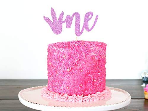 ke Topper Dinosaurier Party Glitter ersten Geburtstag Dekorationen Smash Cake Topper Dino Party ()