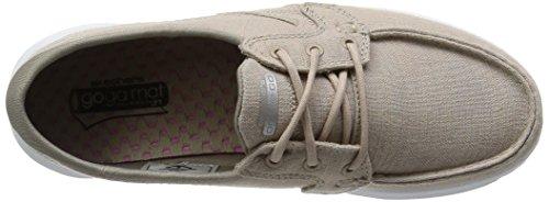 Skechers On-the-Go-Mist, Chaussures de Sport Femme, Talla Marrón (Tpe)
