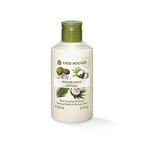 Yves Rocher Sensual Bath & Shower Gel Duft: Coconut Inhalt: 2x200ml sinnlicher Duft nach Kokosnuss. Duschgel Shower Gel -
