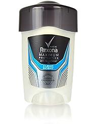 5PACK Rexona maximum protection Clean Scent Homme Déodorant de voyage en crème 5x 45ml
