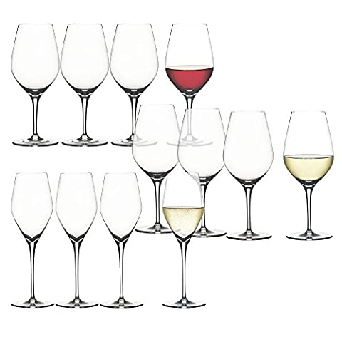Spiegelau Authentis Glasses Bonus Pack, Set of