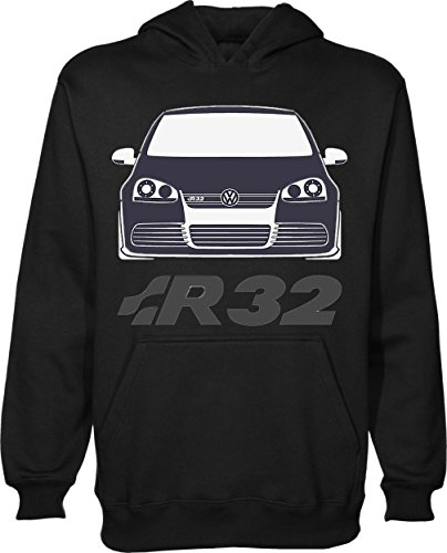 Golf R32 T-Shirt Unisex Pullover Hoodie X-Large (Golf-shirt Toten)