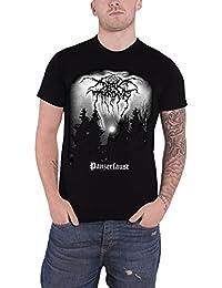 Darkthrone Homme T Shirt Noir Panzerfaust band logo officiel
