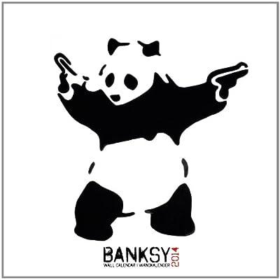 Banksy 2014 Calendar