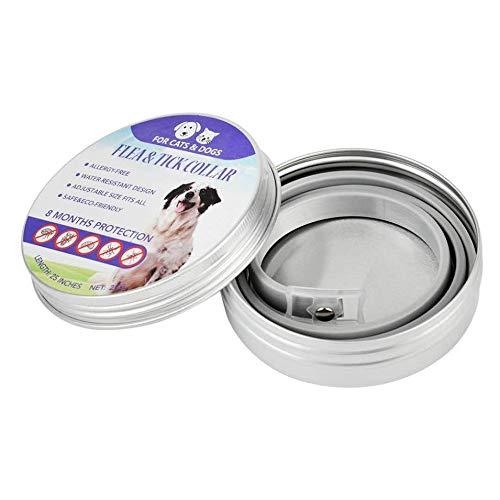 Hermosauknight collari per cani collari anti-pulci zecche collare per repellenti collar pet supplies