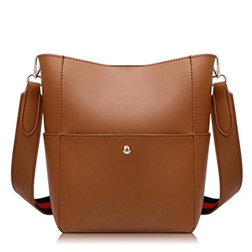 GBT Neue Dame Bag Fashion Damentasche, Handtasche Brown