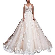 Changjie Mujeres Vestidos de novia 2017 Cord¨®n Vestidos de novia de sirena