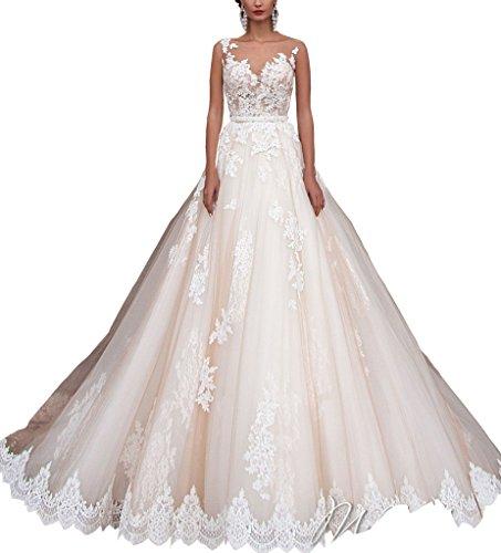 Vestidos novia blanco en forma de sirena