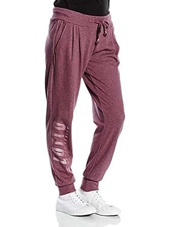 Lotto Sport - Pantalon de sport - Femme Rouge Burdeos XL
