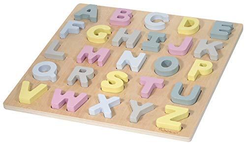 Kindsgut - Puzle ABC, puzle de Madera, abecedario, «Hanna»