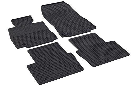 Preisvergleich Produktbild Maßgeschneiderte Fußmatten, Passende Gummimatten - Farbe: Schwar, RIGUM-3201-2