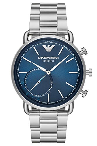 Emporio Armani Mens Analogue Quartz Watch with Stainless Steel Strap ART3028