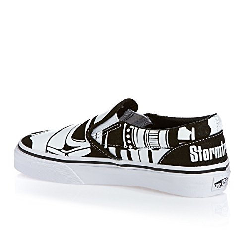 Vans Shoes - Vans Classic Slip-on Shoes - Star ... Star Wars Stormtrooper