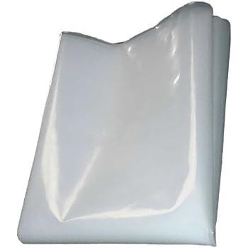 500G Plastic Sheet Protection Cover QVS Shop 4M X 8M Black Polythene Sheeting 125Mu