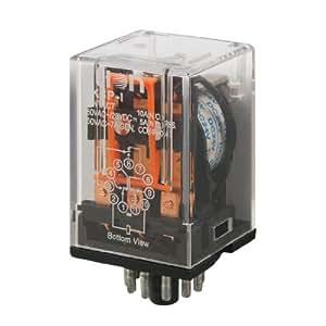 Amico MK3P-I DC 24V bobine électromagnétique Relais 3PDT 11 broches 3S 3NC