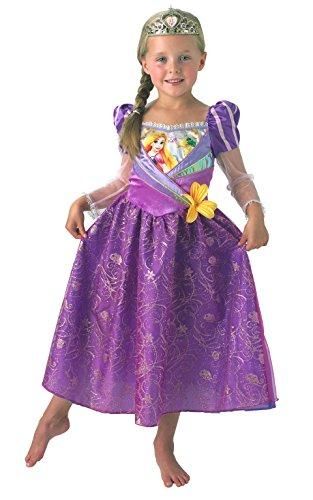 Rubie' s – costume ufficiale da principessa disney shimmer rapunzel, per bambini, taglia: s