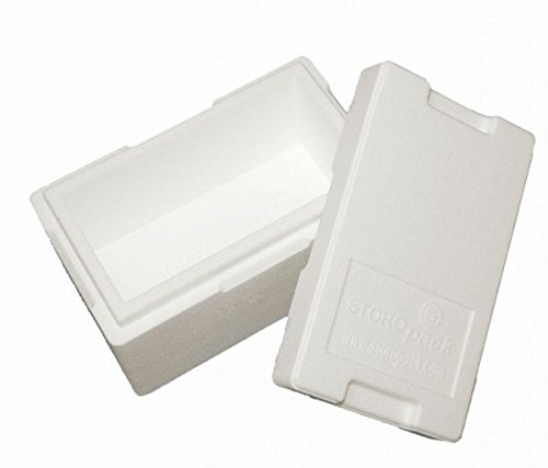 Premium Styroporbox / Isolierbox - 270x140x125mm (4,7l) - Gr. 4
