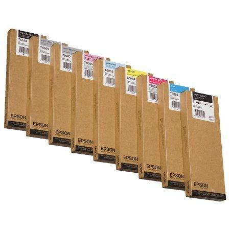Preisvergleich Produktbild Epson C13T614800 ST PRO4400 Tintenpatrone, 220 ml, matt schwarz