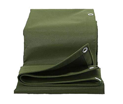 HWTZ 4X6 grüner verschleißfester Sonnenschutz für LKW-Plane, Außenzelt, Parkhaus