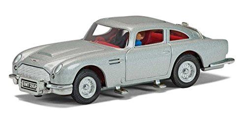 007 James Bonds Aston Martin DB5 - Druckguss-Scale Model - SILVER - Hornby