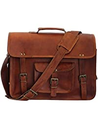 Mk Bags Vintage Bags Genuine Leather Messenger Bag Cum Office Bag 69
