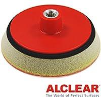 ALCLEAR Piattino di sostegno professionale morbido Ø 123 mm, rosso - ukpricecomparsion.eu