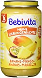 Bebivita Früchte Limitiert Banane, Ananas, Mango, Maracuja, 6er Pack (6 x 250 g)